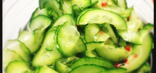 Asiatisk gurksallad.