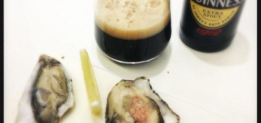 Guinness och ostron – en utmärkt kombination.