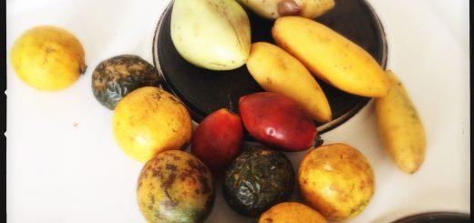 Frukt direkt från Madeira.