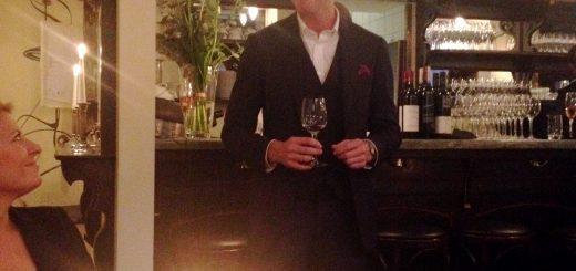 Steve Meckiff från australiensiska vinhuset Jacob's Creek berättar om finvinet Johan.