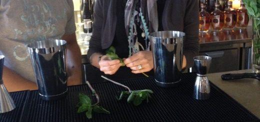 Barchefen på Mary Celeste, Carlos Madriz, lär oss att mynta inte ska muddlas utan bara rullas ihop och klappas till mellan händerna. Annars blir den besk.