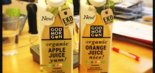 Ekologisk juice från God Morgon.