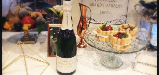 Grönstedt kommer med en Champagne lagom till jul och nyår.