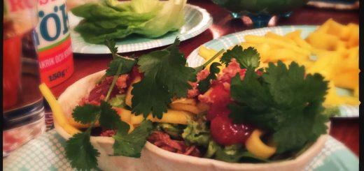 Tacobåt kommer lastad med i princip allt. Inklusive mango.