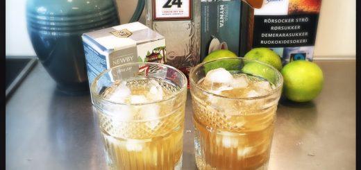 Green Tea Cooler, en somrig och fräsch drink som inte smakar mycket gin.