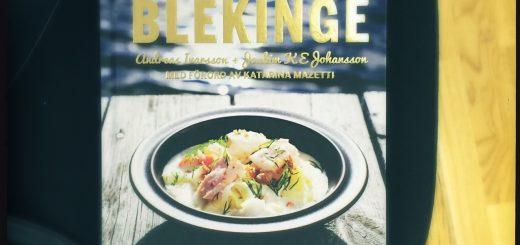 Andreas Ivarssons bok om maten i Blekinge.