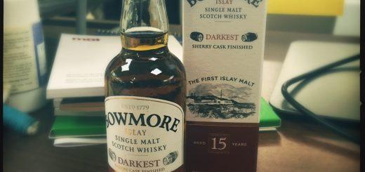 Bowmore 15 Year Old Darkest.