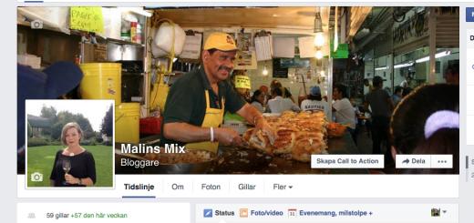 Följ mig på Facebook!