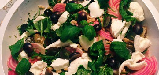 Recept från Green Kitchen Stories med orzo, emmer och kamut.