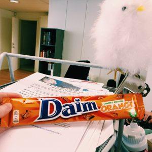 Daim Orange en nyhet i begränsad upplaga.