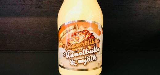 Ny likör med smak av kanelbulle med mjölk. Vi har testat den!
