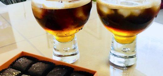 Recept på Carajillo – iskall kaffedrink med espresso och Licor 43.