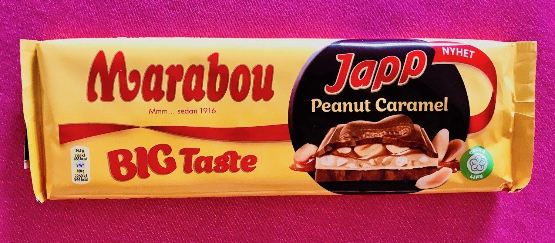 Marabous nyhet med Japp, jordnötter och kola är minst sagt begärlig!